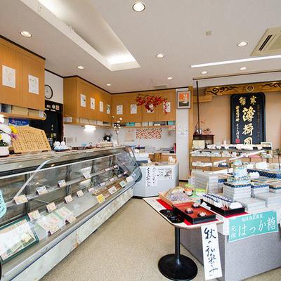 アオキ菓子店 店内