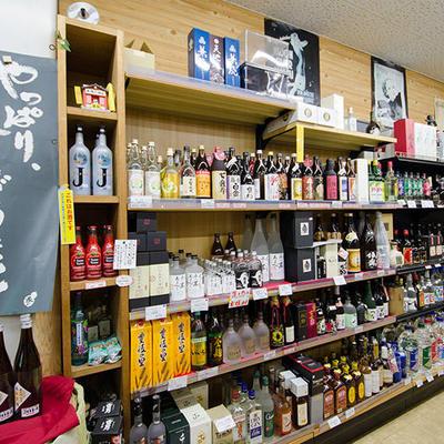 南魚沼の地酒を中心に各種酒類を取り揃えております